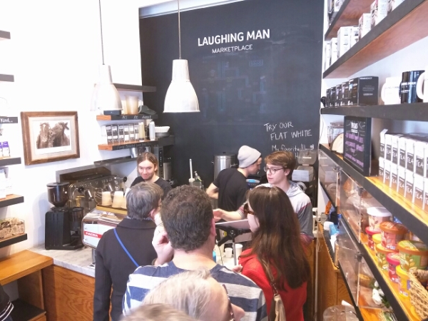 Laughing Man Coffee & Tea